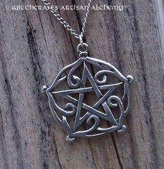 Witchcrafts Artisan Alchemy - Pentagram of Brisingamen Pendant Necklace, $25.95 (http://www.witchcraftsartisanalchemy.com/pentagram-of-brisingamen-pendant-necklace/)
