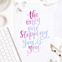 Lettering inspo by @mylettering.co If you have any favorite lettering accounts, please tag them below! We will be featuring our favorites here! #handlettering #handlettered #handletteredtruth #inspirationalquotes #instagood #inspirationdaily #letteringcommunity #lettering #stationery #stationerylover #Regram via @minte.store