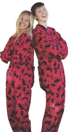 SleepytimePjs Family Matching Holiday Camo Fleece Onesie PJs ...