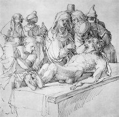Entombment - Albrecht Durer