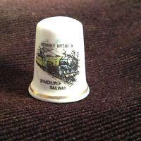 Thimble - Dymchurch Railway - Bone china made in England (CODE 680)
