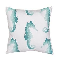 Jaipur Rugs Veranda Pillows Seahorse Pillows | Rugs Direct