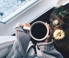 Cozy with your coffee