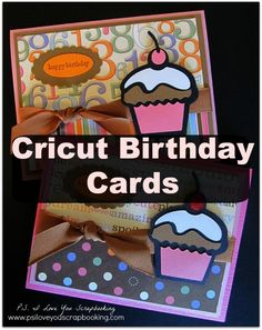 Here is a great variety of Cricut Birthday Cards. They are great for everyone and so much fun to make!