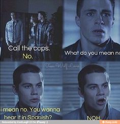 Haha Teen Wolf-Stiles (Dylan O'Brien)