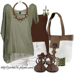 """""""Green for Summer"""" by jewhite76 on Polyvore"""
