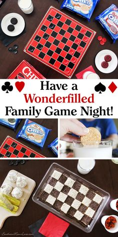 If you've been reading the blog for a while you know that we've been doing Family Game Nights since the kids were small. I think it's a great way to make the whole family feel connected by having fun together. Sometimes it's just playing some games after dinner, a lot of times there are snacks, but occasionally I'll get the urge to make it into a wonderfilled night. Keep reading for some tips and tricks to pull together a family game night to remember. #EnterTheWonderVault @oreo @krogerco…