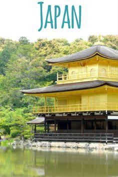 Kinkakuji (Golden Pavilion) temple, Kyoto, Japan / Article at my travel blog: Japan in 10 Pictures