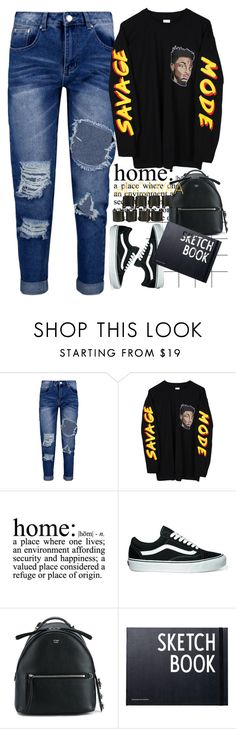 """IM REALLY BUSY WITH LIFE RN, I'LL BE BACK REGULARLY SOON ✌"" by idcmyaa ❤ liked on Polyvore featuring Forum, Boohoo, WALL, Vans, Fendi, Design Letters and 8 Other Reasons"