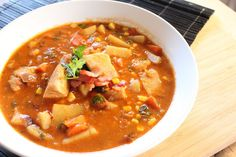 Fish Chowder is something that I don't make often, however, when I do we enjoy every bite of it. This Fish Chowder version is magnificent.
