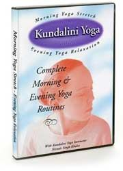 Morning Yoga Stretch/Evening Yoga Relaxation - DVD
