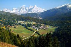 Bellamonte in Fiemme Valley, Italy