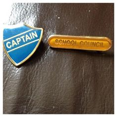 Receiving one of these badges and feeling like there was no one who could touch you.