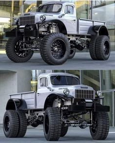 Dodge Power Wagon is the King of Trucks. Handcrafted at Legacy Classic Trucks, the Dodge Power Wagon Conversion is the truck for the serious collector. Dodge Pickup, Dodge Cummins, Old Dodge Trucks, Pickup Camper, Mopar Jeep, Jeep Dodge, Dodge Power Wagon, Dodge Challenger, Dodge Viper