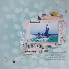 hooray - Becky Higgins - Project Life - Inspire Edition Collection - Chipboard…