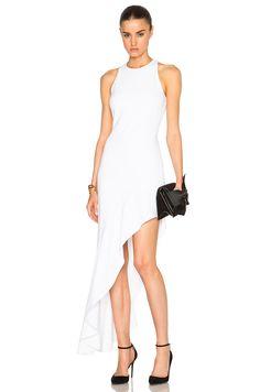 Image 1 of Cushnie et Ochs Stretch Cady Dress in White