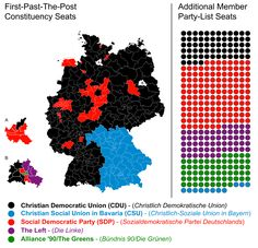 Germany Federal Election 2013 Map