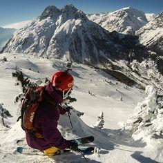 #GoPro #Freeride #ski #snow #mountain #powder
