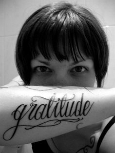 #Gratitude #Tattoo