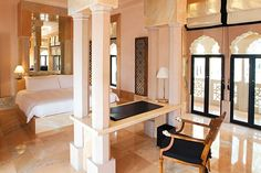 A Haveli Suite at Amanbagh hotel, Rajasthan