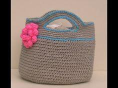 ▶ Crochet Basket Stash - Buster Part 1 of 2 - YouTube by Bobwilson123 Dahlia Flower Pattern by MyHobbyIsCrochet