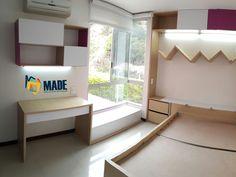 Habitación infantil   Decoración de Interiores   Diseño de Interiores Loft, Bed, Furniture, Home Decor, Child Room, Kids Rooms, Interior Design, Space, Style