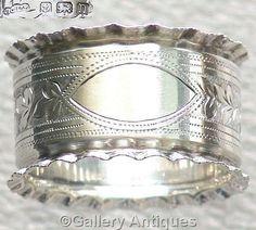 FOR SALE #Antique #Sterling #Silver #Napkin Ring, HM Birmingham 1912 £42.50 #followvintage #etsy