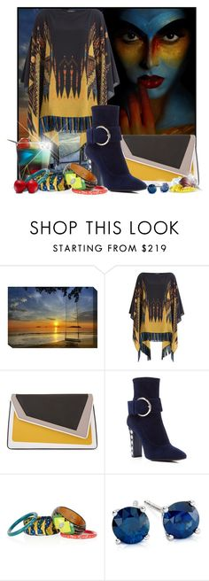 """Happy Birthday Violet"" by doozer ❤ liked on Polyvore featuring Grandin Road, Etro, âme moi, Giuseppe Zanotti, Lulu Frost and Blue Nile"