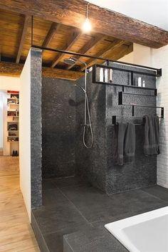 Freek architecten ModernBathrooms is part of Bathroom design - Bathroom Interior Design, Interior Design Living Room, Industrial House, Vintage Industrial Decor, Bathroom Inspiration, Bathroom Ideas, Bathroom Crafts, Bathroom Inspo, Bathroom Organization