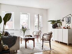 Small Scandinavian living room