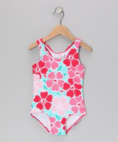 Look at this #zulilyfind! Kanu Surf Pink Florence One-Piece - Infant by Kanu Surf #zulilyfinds