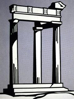 roy lichtenstein temple - Поиск в Google