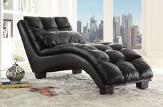 Check out the Coaster Furniture 550006 Pillow-top Upholstered Chaise in Black Accent Furniture, Living Room Furniture, Modern Furniture, Coaster Fine Furniture, Online Furniture, Decoration, Home Decor, Chaise Lounges, Lounge Chairs