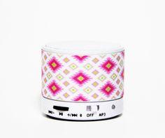 Teen Geometric Wireless Bluetooth Mini Speaker