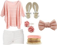"""""""Pretty Summer Outfit"""" by fashion-girl-123 on Polyvore"""