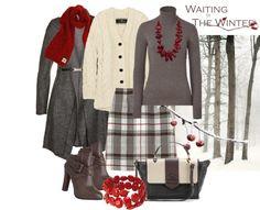 """winter cherry"" by sagramora on Polyvore"
