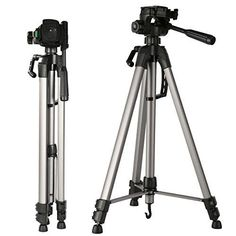 KF Concept Lightweight Tripod 66inch 3 Section Aluminum Alloy Camera Tripod with tripod Head Quick Release Plate for Digital Cameras Canon Nikon Sony Tamorn DV *** Details can be found by clicking on the image.