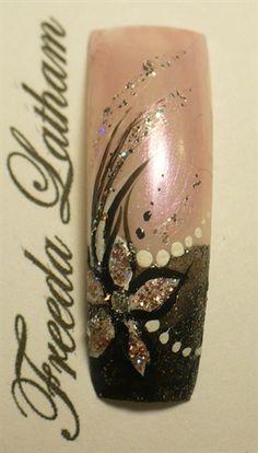 Fancy Formal by FreedaLatham - Nail Art Gallery nailartgallery.nailsmag.com by Nails Magazine www.nailsmag.com #nailart