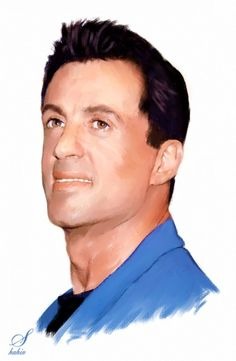 Sylvester Stallone by shahin