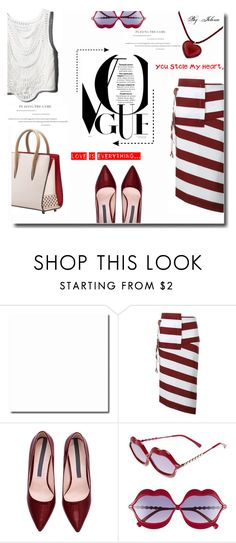 """""""Untitled #505"""" by jelenalazarevicpo ❤ liked on Polyvore featuring N°21, Wildfox and Baccarat"""