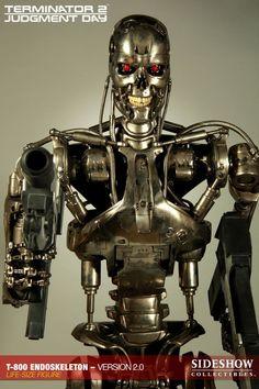 Terminator - T2 T-800 Endoskeleton Ver 2 Life-Size Replica 5 $8000