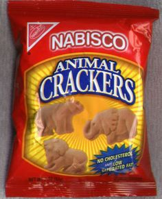 Nabisco Animal Crackers - IMPORTANT: Please read ingredient labels. Manufacturers continually change packaging and processing.