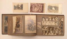 Vintage 1905 Family Photo Album Monticello NY Boston San Francisco RPPC Pictures  | eBay