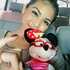 Alden is really one lucky dude. Maine Mendoza, Alden Richards, Embedded Image Permalink, Mickey Mouse, Instagram Posts, Pinky Swear, Fan, Celebrity, Life