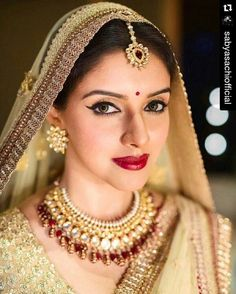 #Repost @sabyasachiofficial with @repostapp ・・・ #SabyasachiMukherjee #Sabyasachi #TheSabyasachiBride #Heritage #Bespoke #Bridal #AsinThottumkal #AtHerWedding @simply.asin @officialasinfc...
