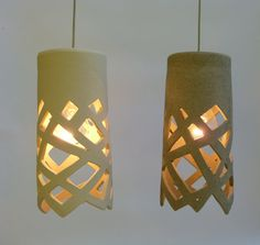 Luces de diagonales colgante lightfixture por LightfixtureTamar