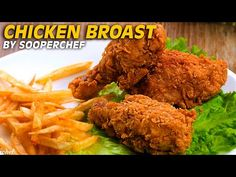 chicken broast: This recipe is amazing and can be made with simple ingredients. Crispy and Tender broasted chicken Recipe for a good lunch. Chicken Broast Recipe, Fried Chicken Recipes, Crispy Chicken, Chicken Tenders, Kfc, Healthy Recipes, Healthy Foods, Fries, Lunch