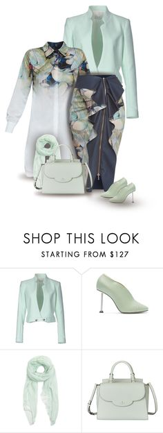 """""""set"""" by vesper1977 ❤ liked on Polyvore featuring Thierry Mugler, Victoria Beckham, Furla and Kate Spade"""