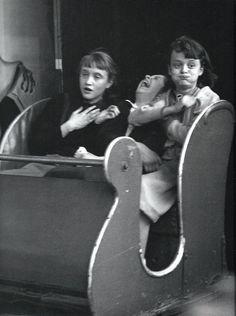 """The ghost train"", 1953 Robert Doisneau"