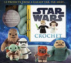 Juhu endlich ist es da, das Starwars Krieg der Sterne Häkelbuch von Luci Collin! Häkel dir Yoda, Luke Skywalker und Prinzessin Lea.